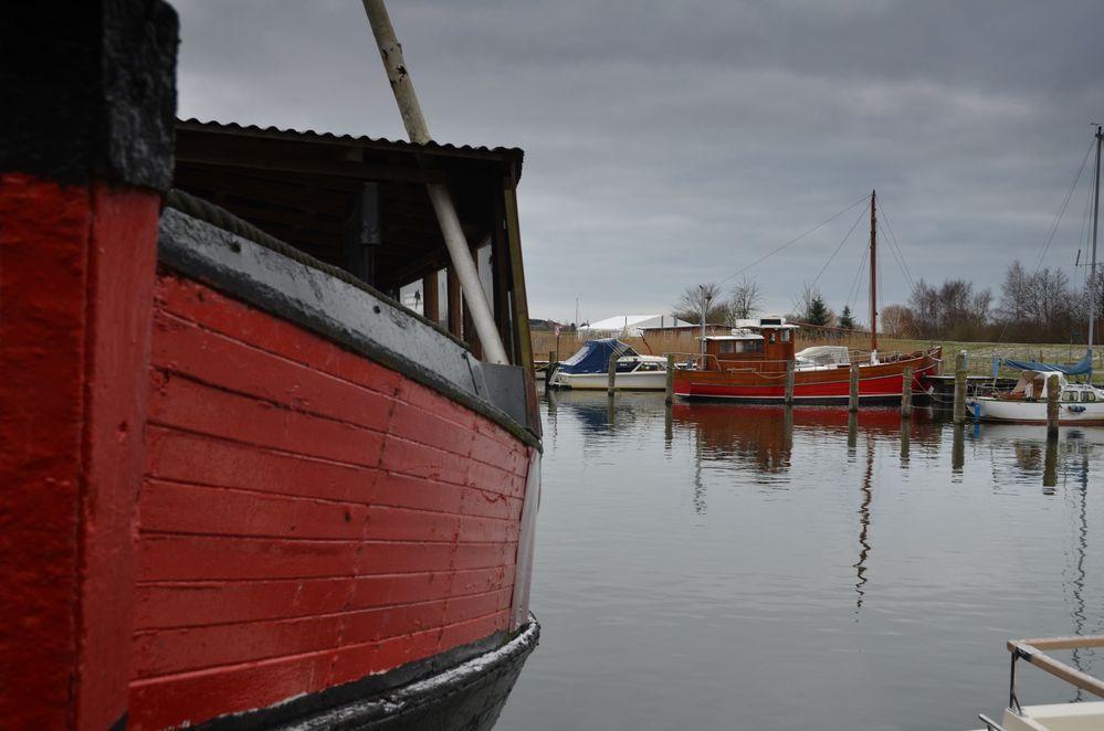 Fischerboote Kloster