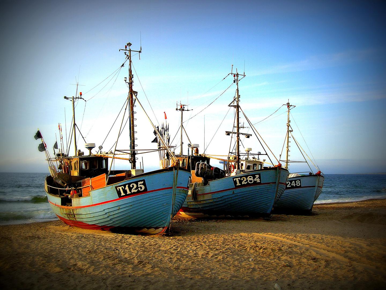 Fischerboote - Norre Vorupor - Dänemark