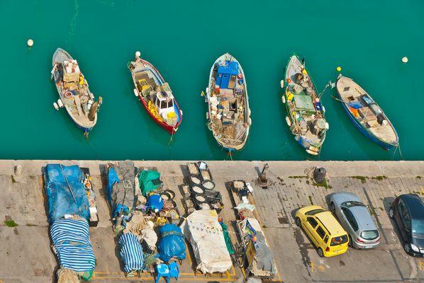 Fischerboote – Toscana