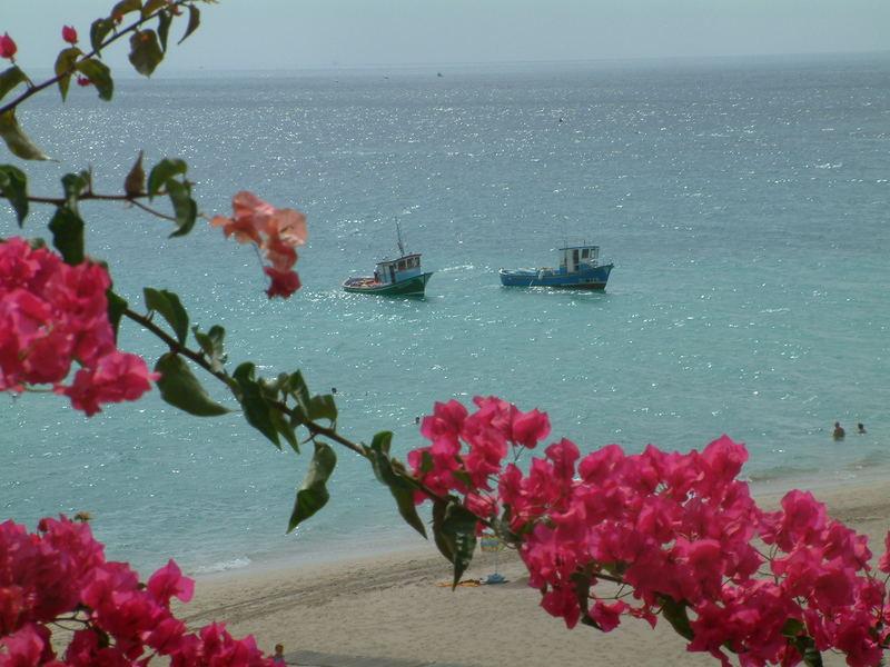 Fischerboote vor Moro Jable/Fuerteventura