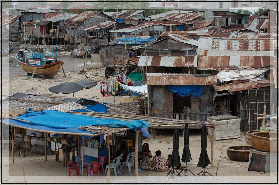 Fischerdorf in Nha Trang