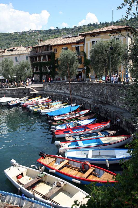 Fischerei am Lago di Garda