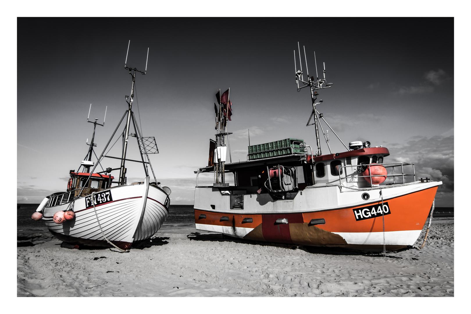 Fischerei in Dänemark