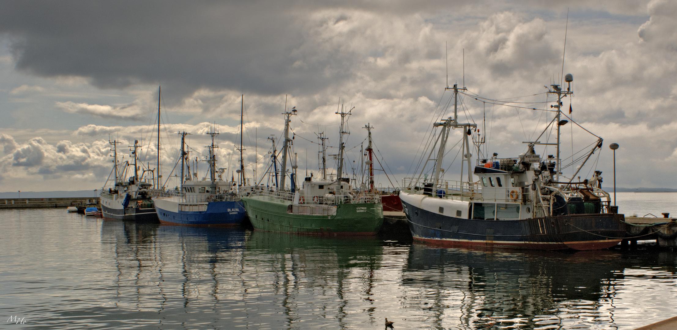 Fischereihafen Sasnitz
