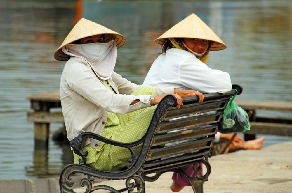 Fischerfrauen in Hoi An, Vietnam