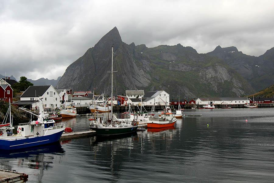 Fischerhafen auf den Lofoten