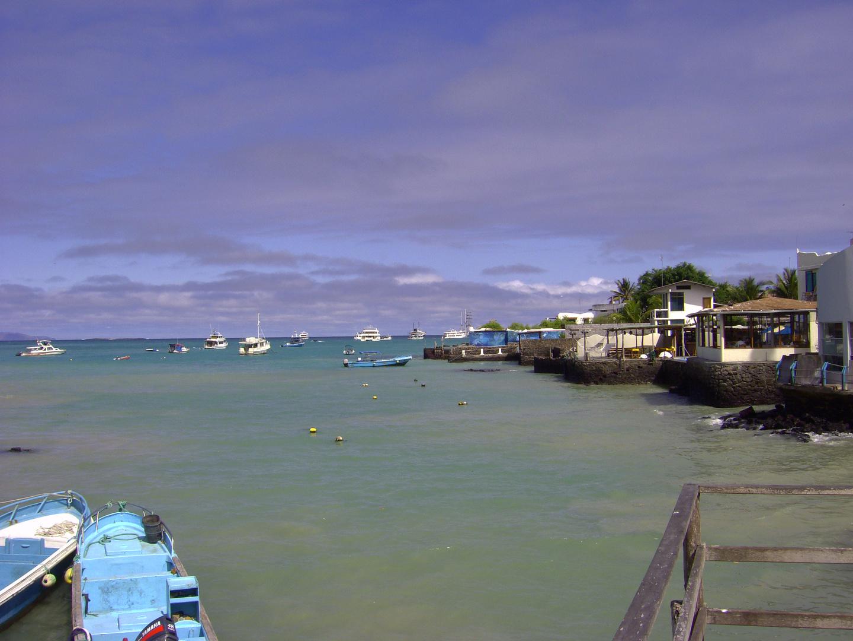 Fischerhafen in Puerto Ayora