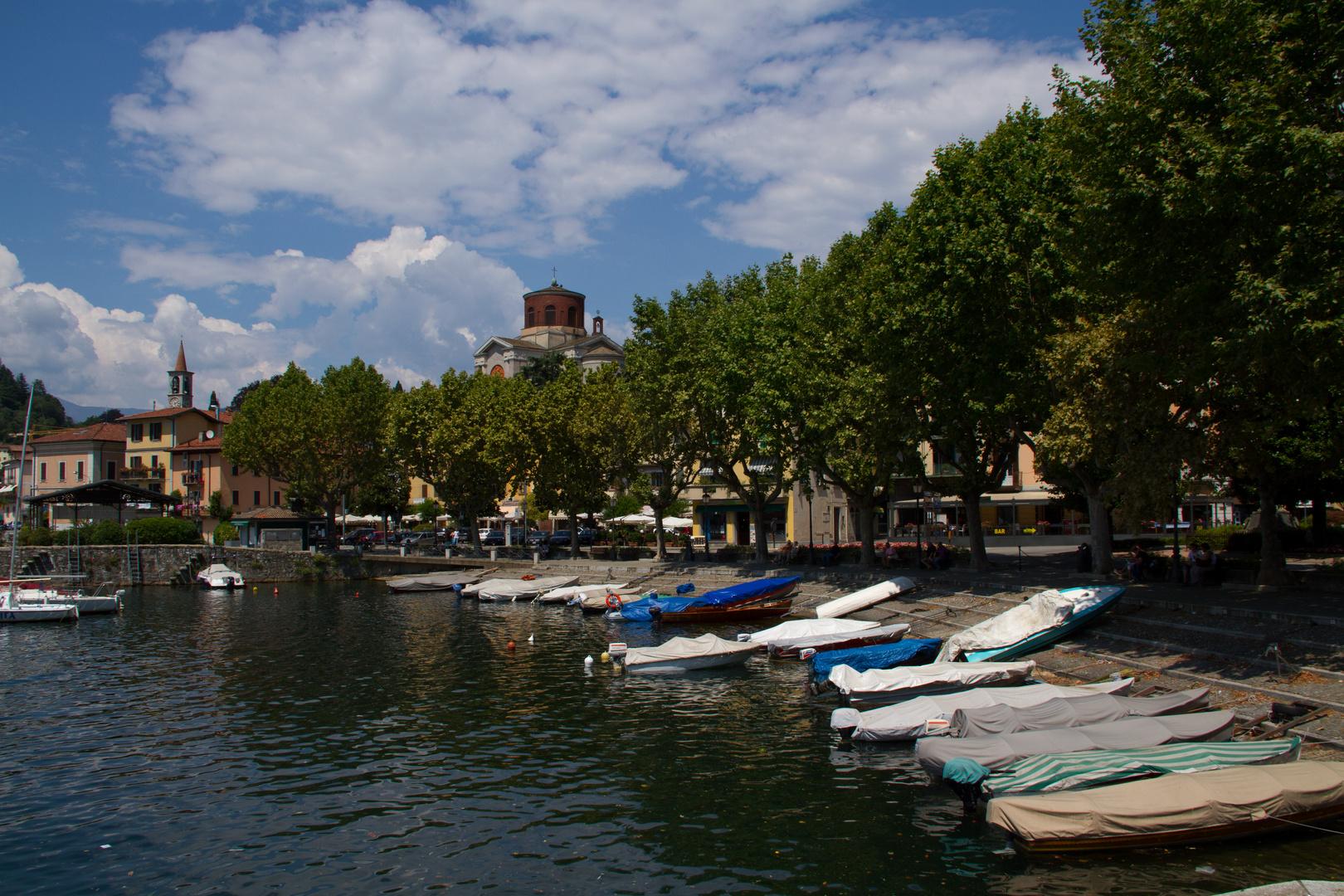 Fischerhafen Laveno Lago Maggiore