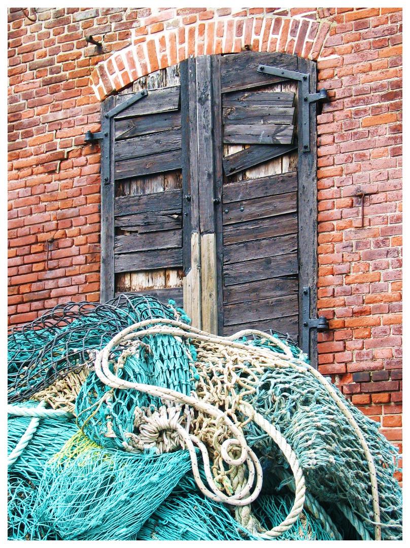 Fischerhaus Fenster ins Netz gegangen