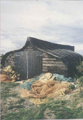 Fischerhütte auf Lindisfarne