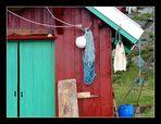 Fischerhütte in Krossøy