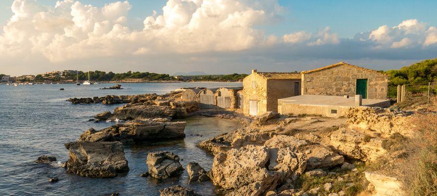Fischerhütten bei Colonia de Sant Jordi