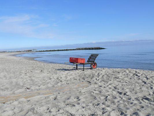 Fischerkarre am Strand