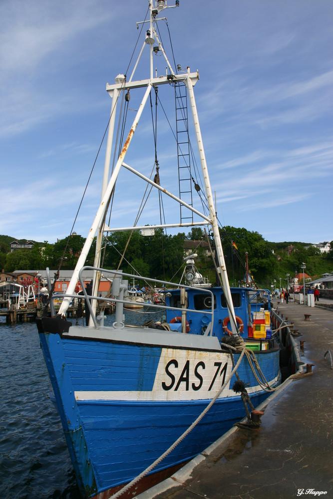 Fischerkutter im Hafen von Sassnitz
