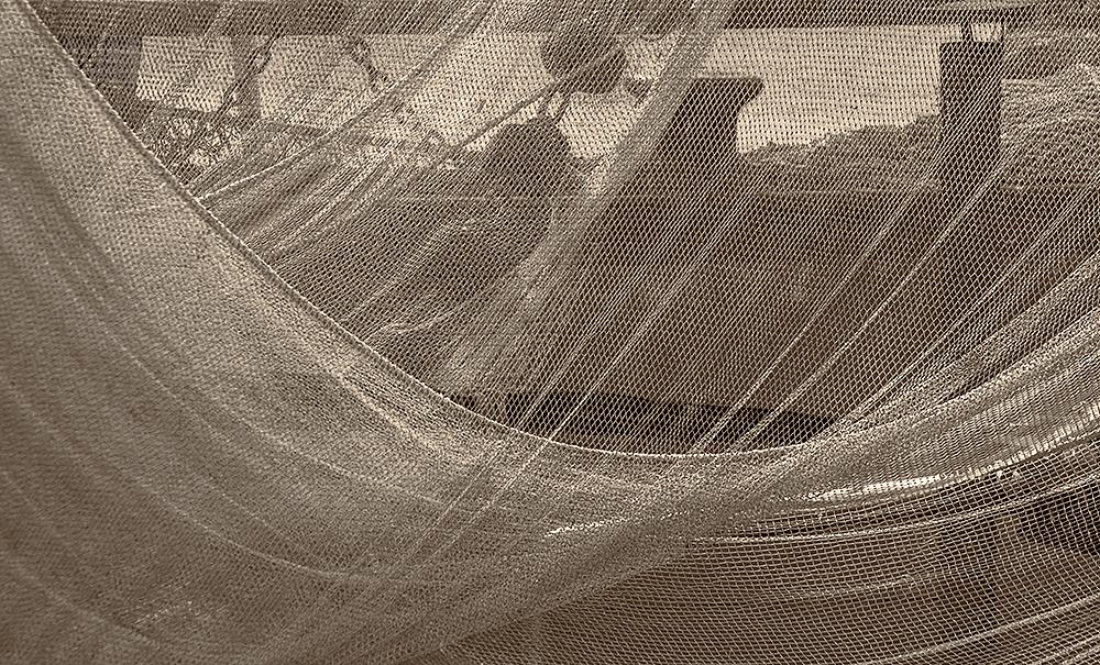 Fischernetz 03 - fishing net
