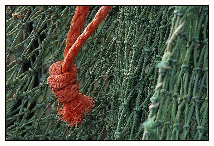 Fischernetze in Burano