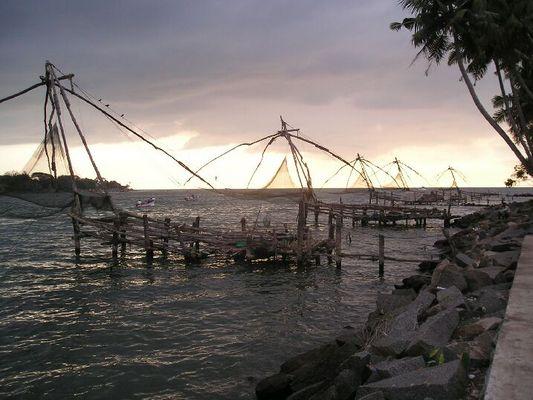 Fischernetze in Cochin