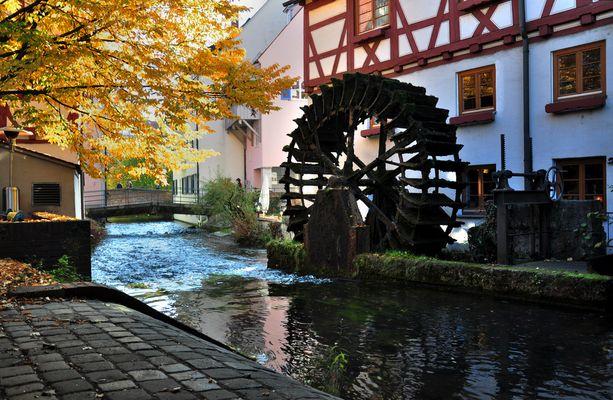 Fischerviertel in Ulm.