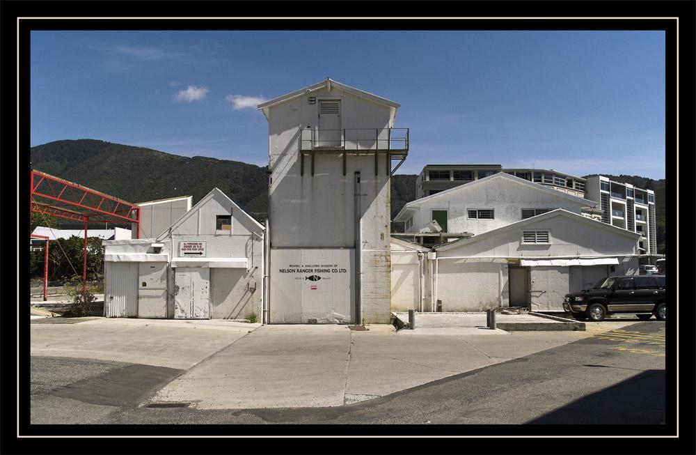 Fischfabrik, Abteilung Muscheln und Schalentiere