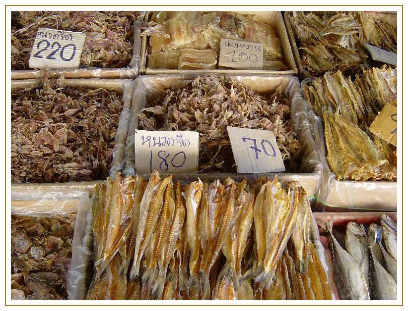 Fischmarkt - Bangkok