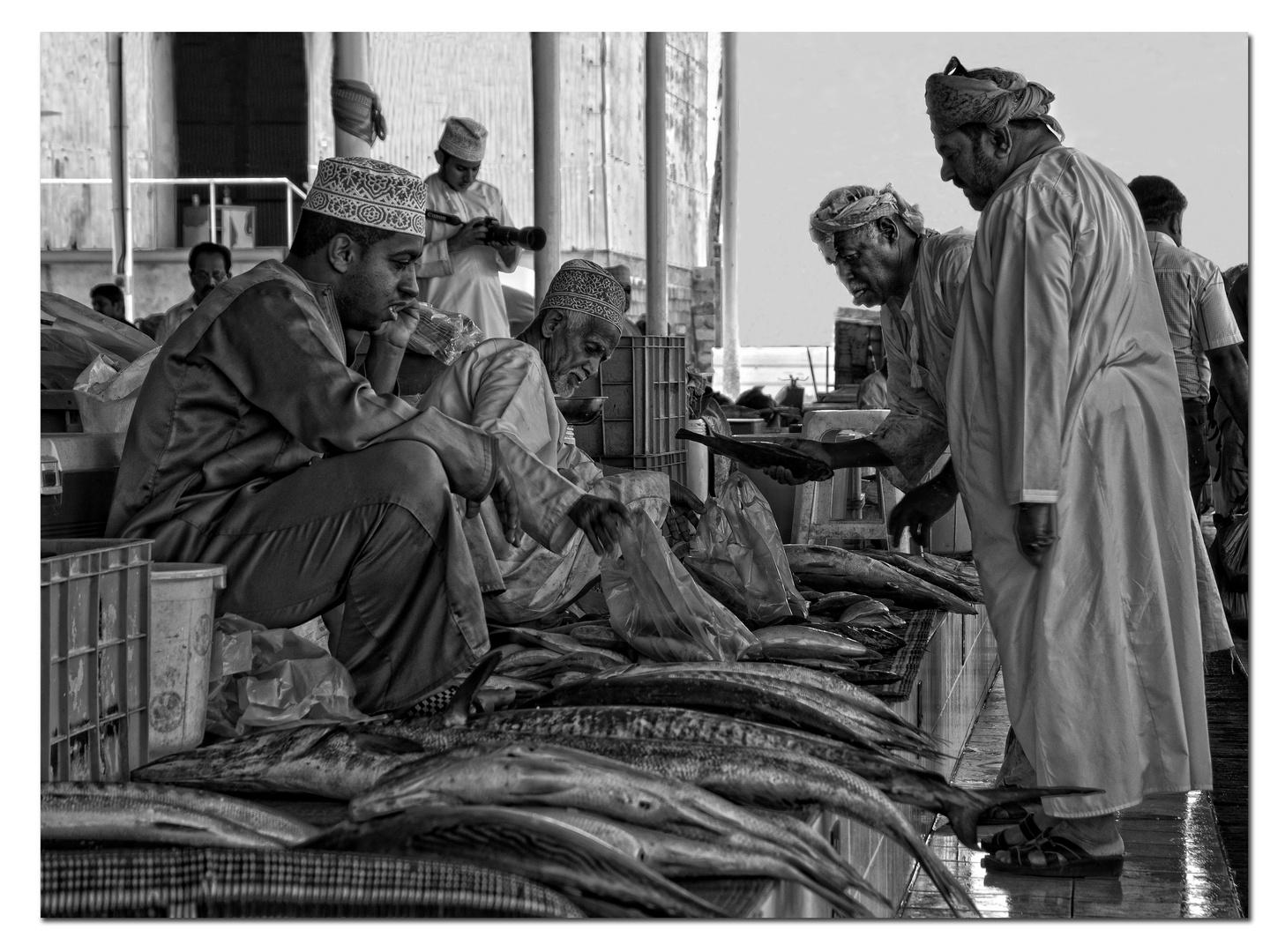 Fischmarkt im Muscat