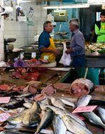 Fischmarkt in Catania...