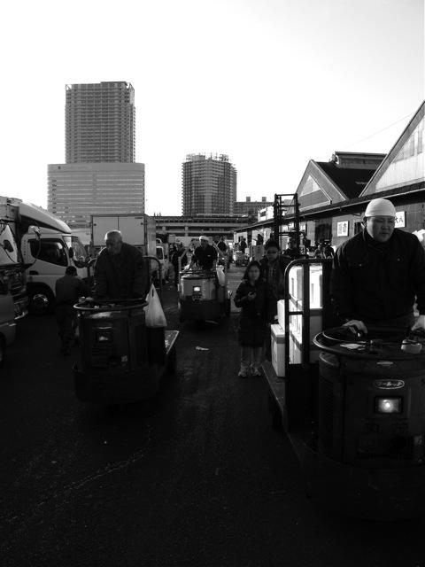 Fischmarkt in Japan