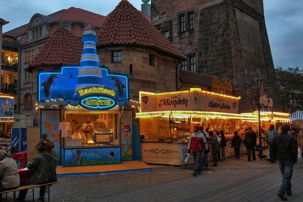 Fischmarkt in Nürnberg