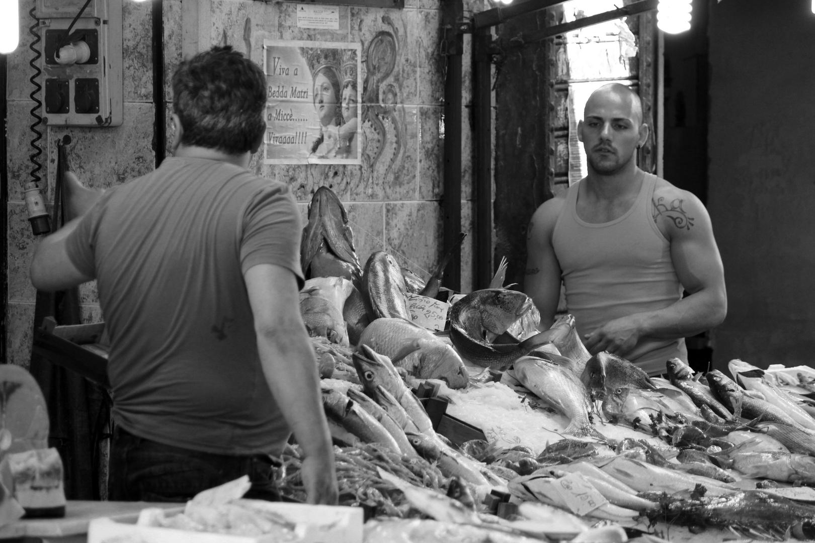 Fischmarkt in Palermo