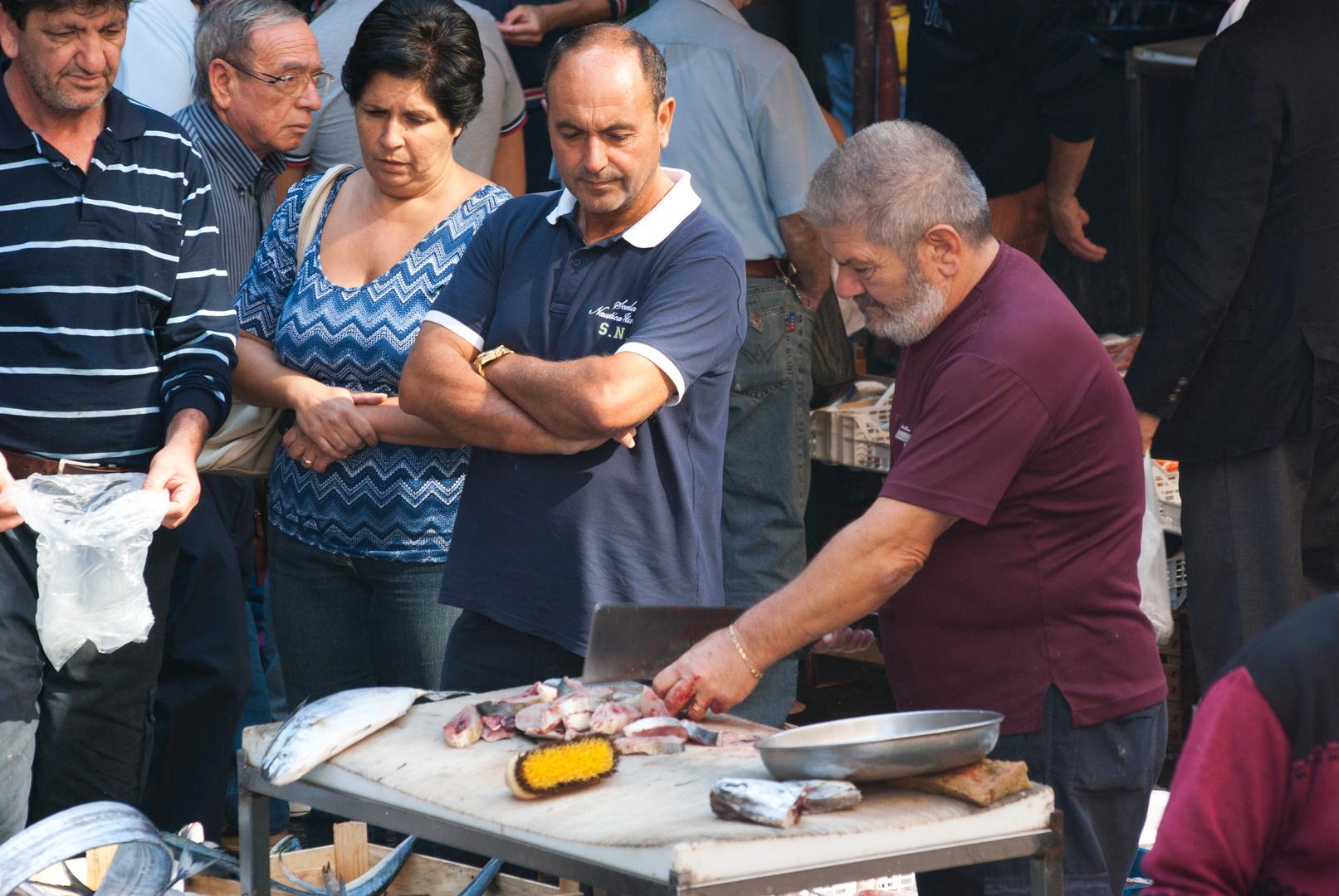 Fischmarkt La pescheria in Catania 2