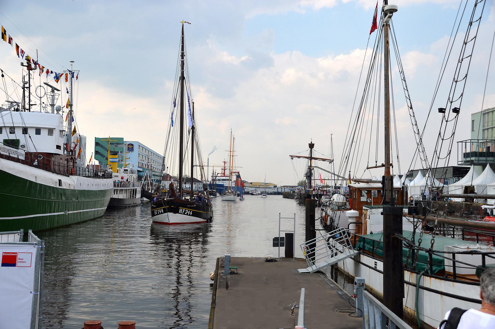 Fischparty 2014 im Fischereihafen von Bremerhaven.
