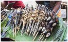 Fish on market in Tagbilaran - Bohol