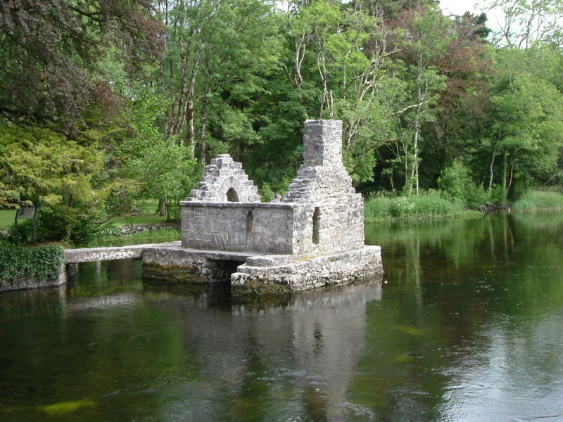 Fish trap in Cong Co.Mayo Ireland