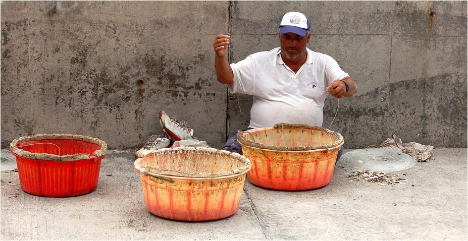 fisherman's workin' after work