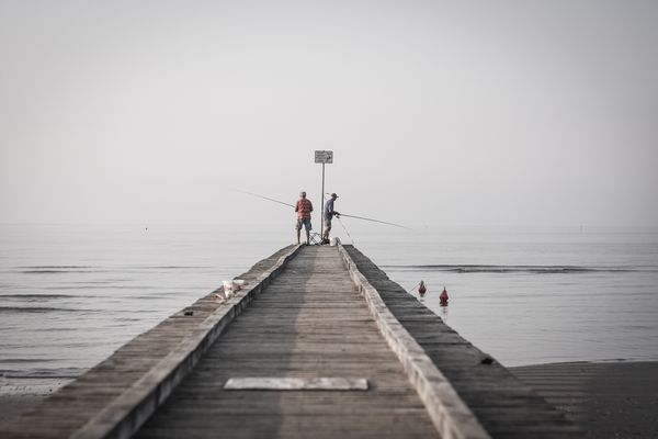 Fishermen in Jesolo