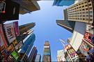 Fisheye Times Square, New York City Serie X von Stefan Bock