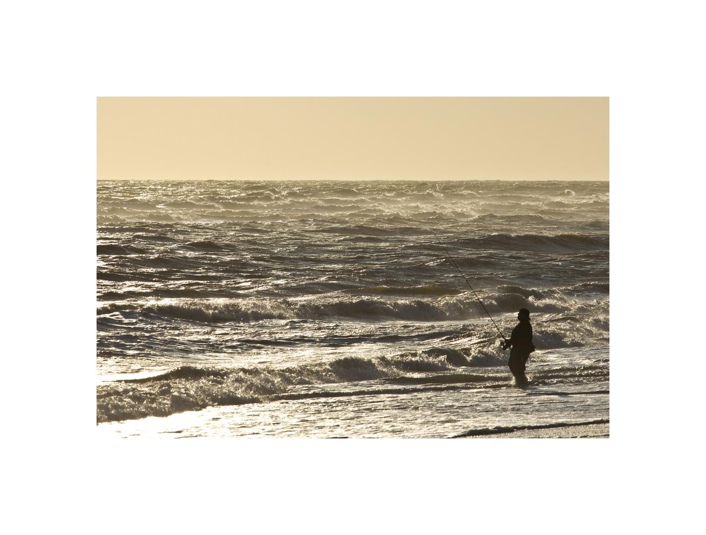 Fishing at Jones Beach