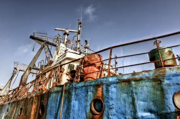 Fishing boat HDR