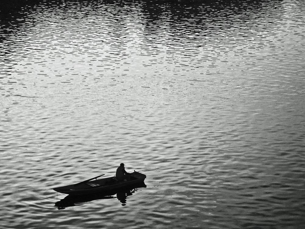 Fishing in Praha