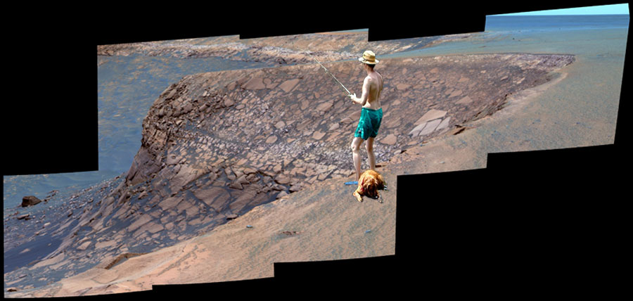 Fishing on Mars