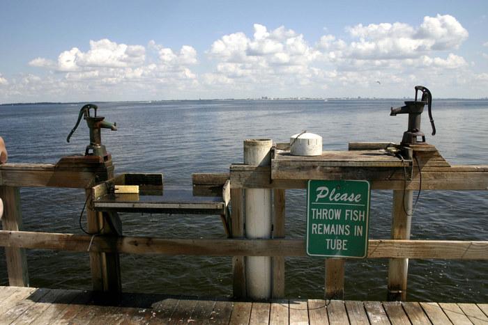 Fishing Pier auf Sanibel