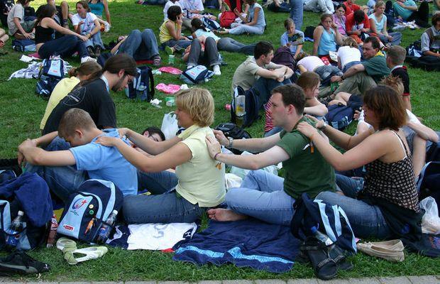 Fithalten für den nächsten Event WJT 2005 in Köln