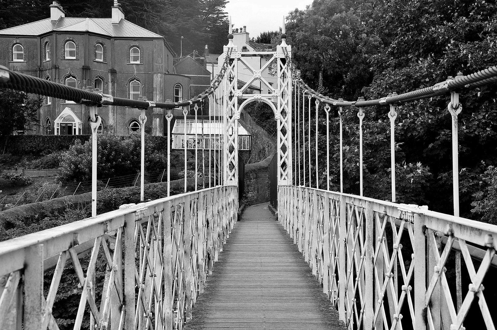 Fitzgerald Park Bridge, Cork City, Irland