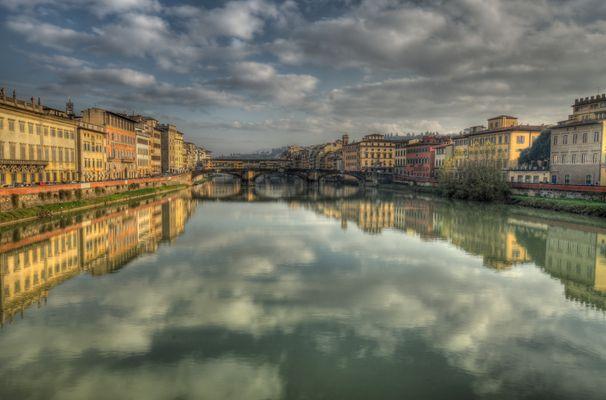Fiume Arno in Firenze