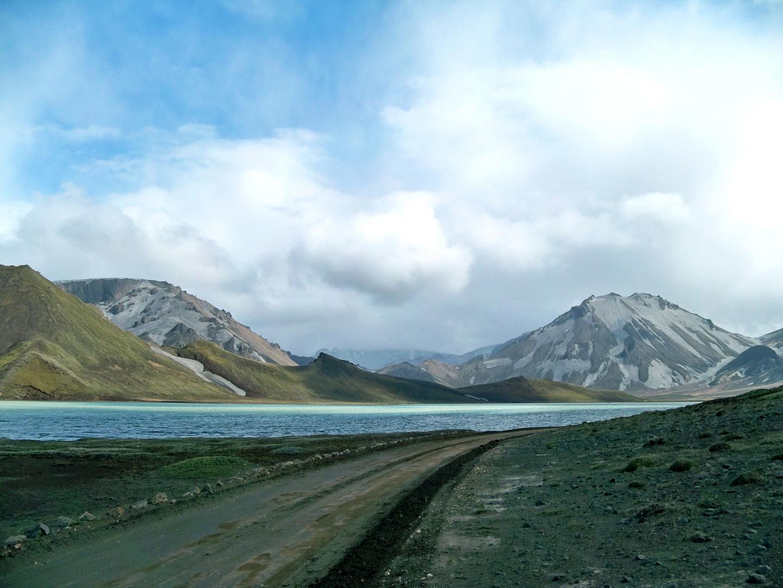 Fjord bleuté en Islande