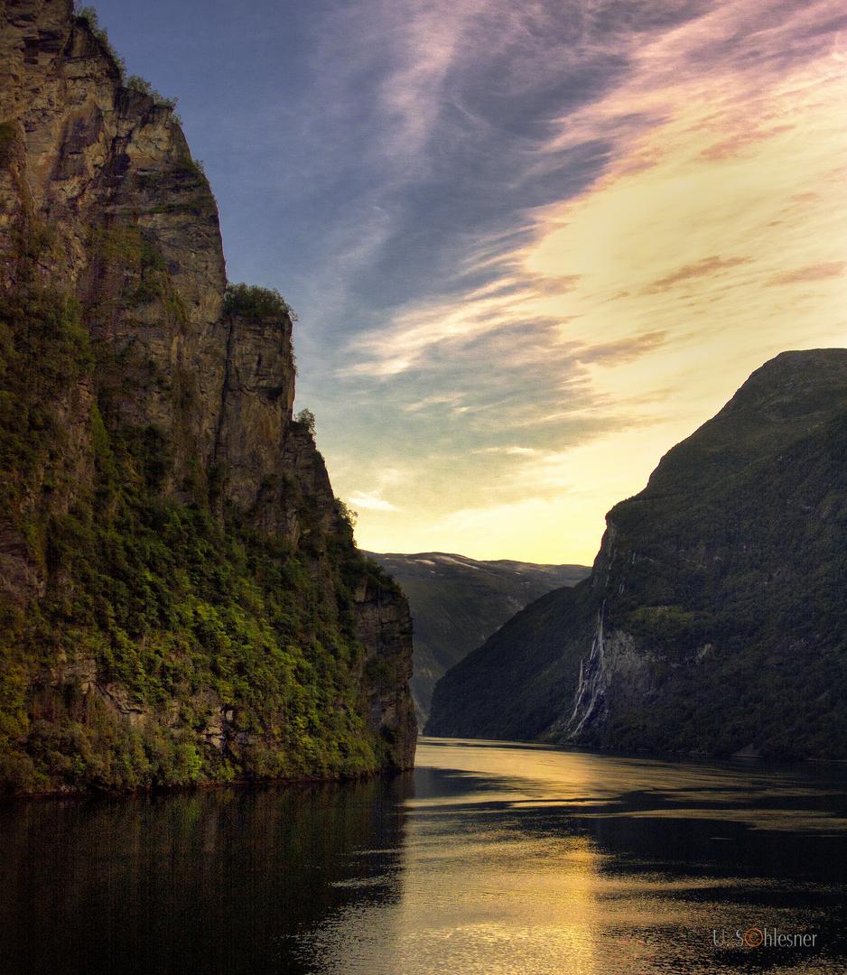 - Fjordlandschaft Geiranger -