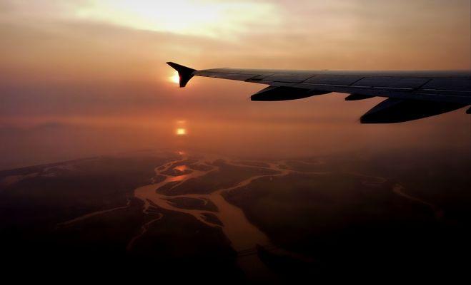 Fl comme Fleuve : Au dessus du Mékong