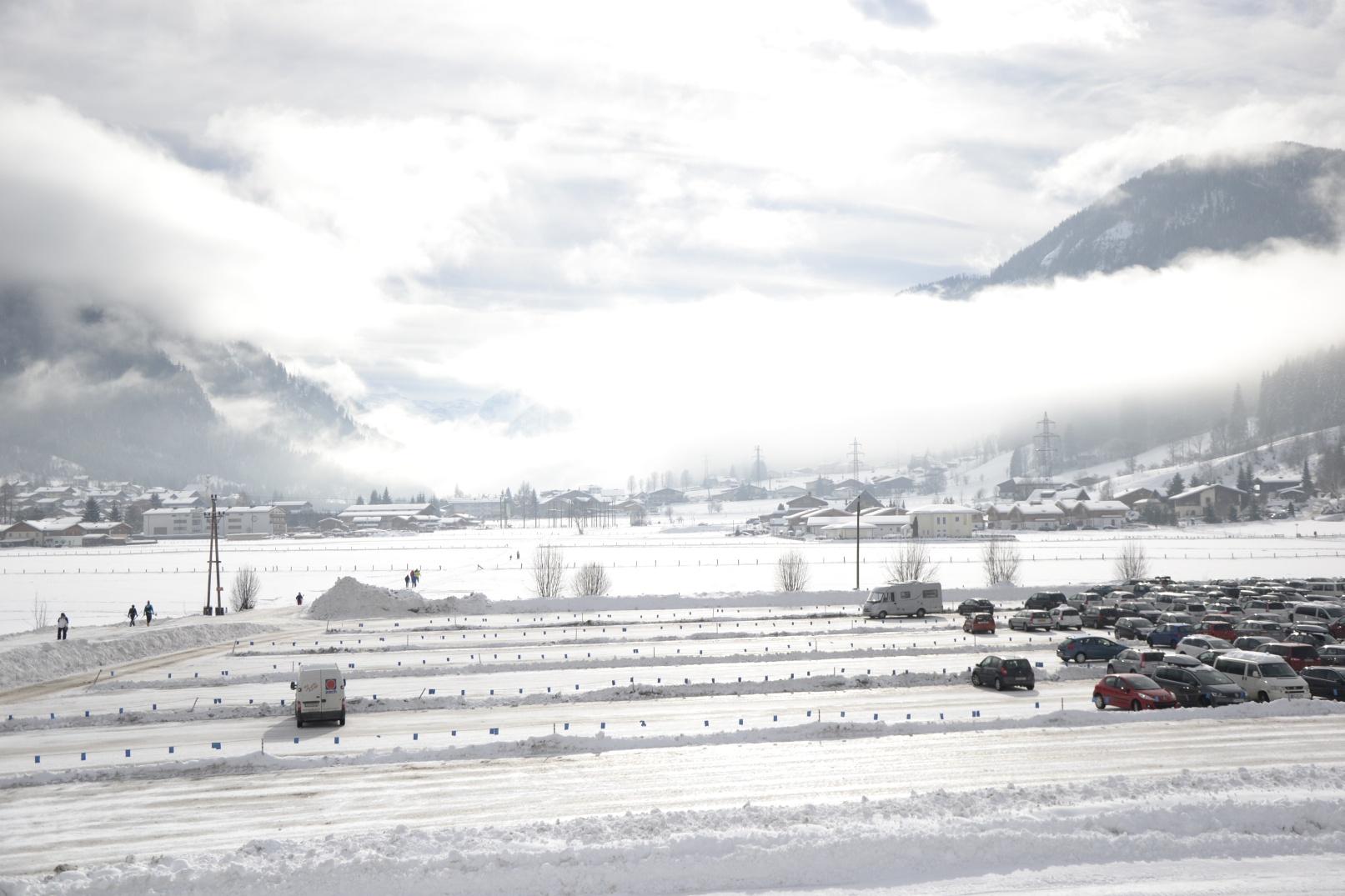 Flachau im Winter