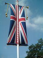 Flagge im Schloss Windsor