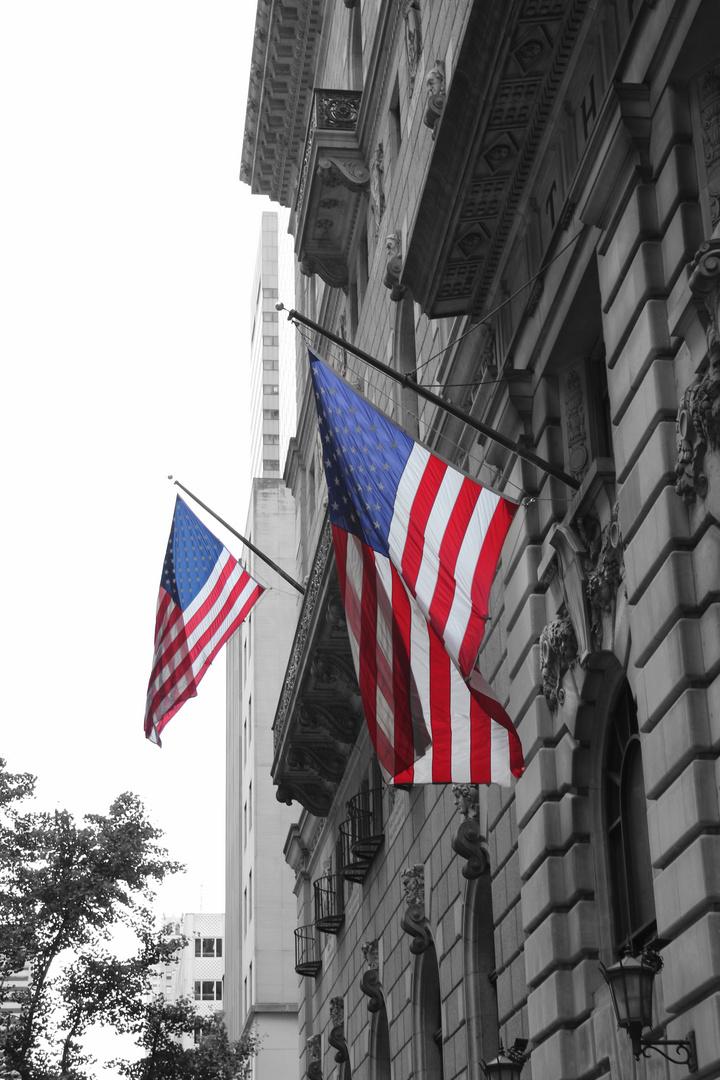 Flags USA NYC